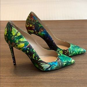 Barbara Bui Paris multicolored pumps 39 Hot!